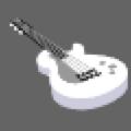 ホワイトギター